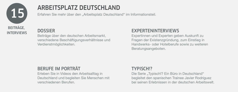 Arbeitsplatz Deutschland